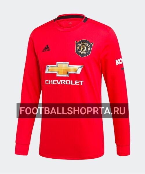 Футболка Манчестер Юнайтед с длинным рукавом 2019/20 - домашняя