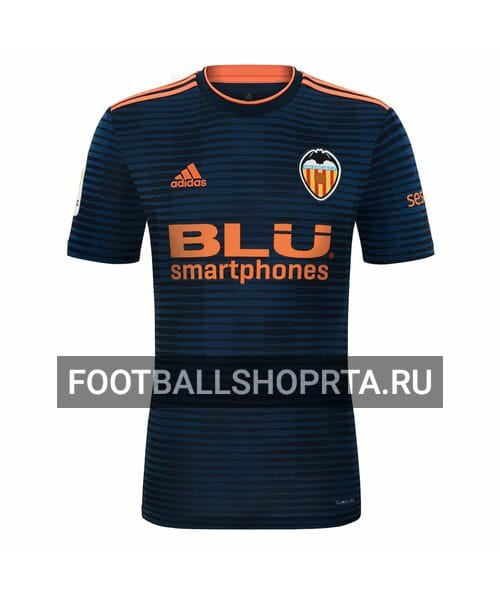 Валенсия гостевая футболка 2018/19