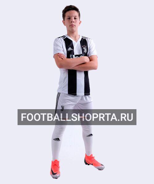Детская форма Ювентуса домашняя - 2018/19