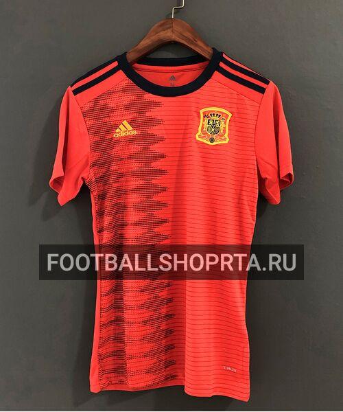 Женская футболка сборной Испании 2019 - домашняя