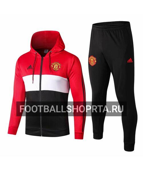 Спортивный костюм Манчестер Юнайтед с капюшоном 2019/20
