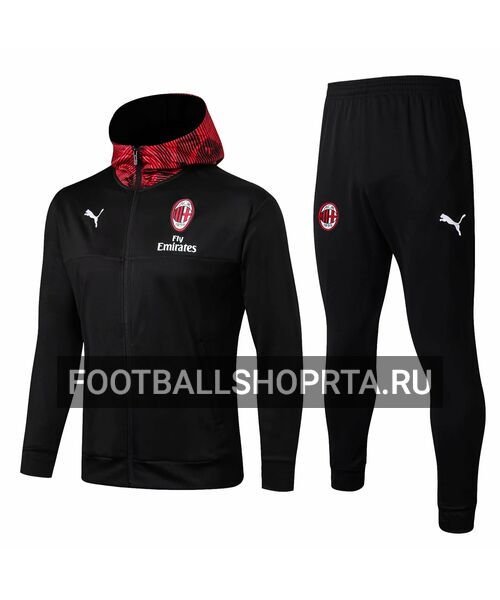 Спортивный костюм Милана с капюшоном 2019/20