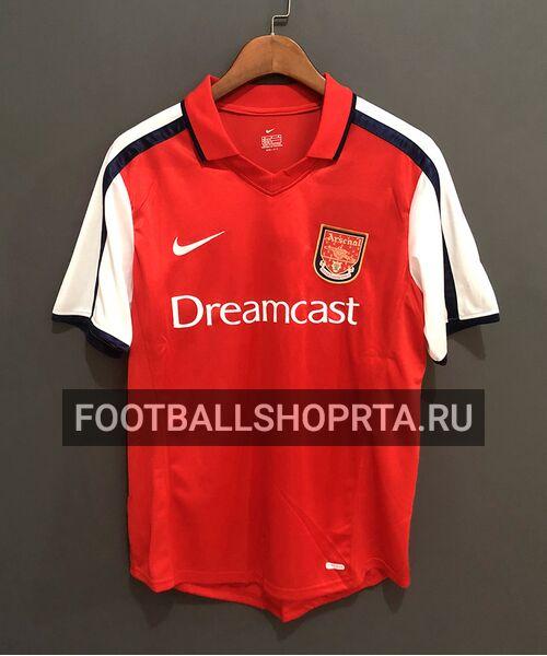 Ретро футболка Арсенала 2000/02