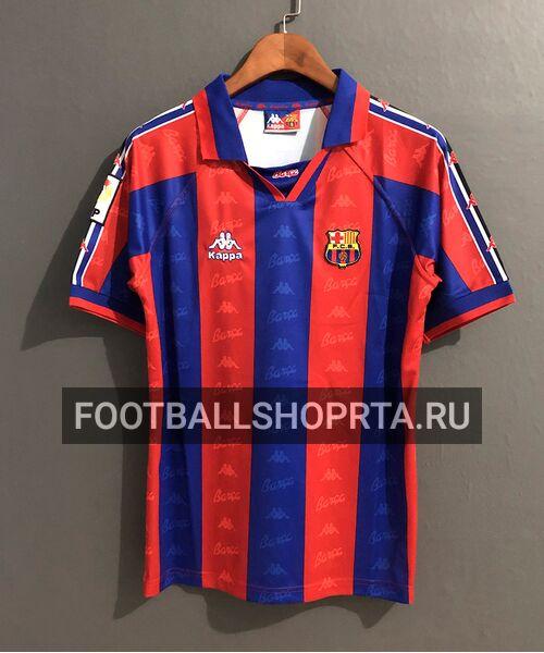 Ретро футболка Барселоны 1995/96