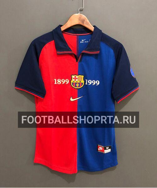 Ретро футболка Барселоны 1998/99