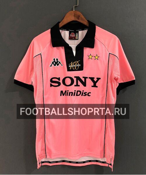 Ретро футболка Ювентуса 1997/98 - гостевая