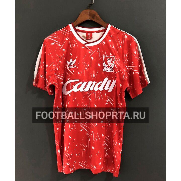 Ретро футболка Ливерпуля 1989/90