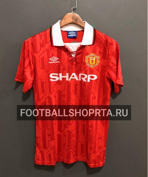 Ретро футболка Манчестер Юнайтед 1992/94