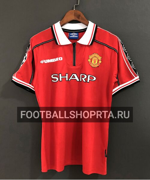 Ретро футболка Манчестер Юнайтед 1998/00