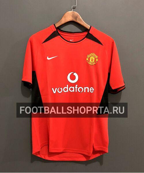 Ретро футболка Манчестер Юнайтед  2002/03