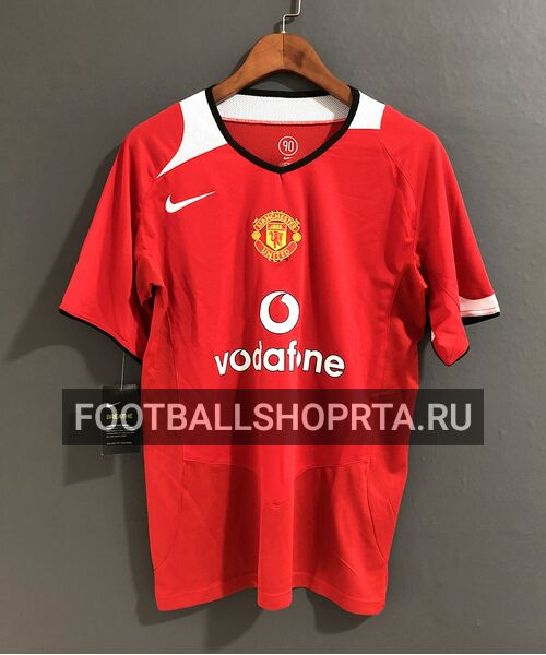 Ретро футболка Манчестер Юнайтед 2005/06