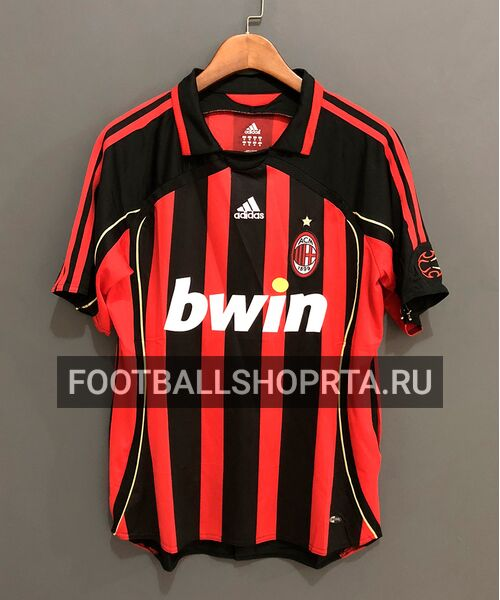 Ретро футболка Милана 2006/07