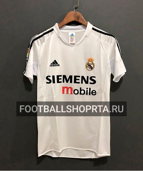 Ретро футболка Реал Мадрид 2004/05