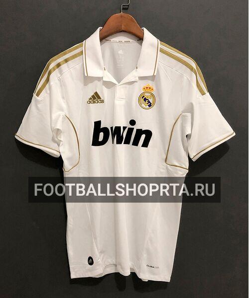 Ретро футболка Реал Мадрид 2011/12 - домашняя