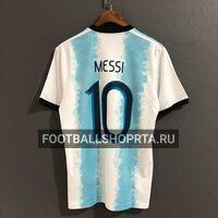 Футболка сборной Аргентины домашняя - 2019