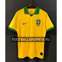 Футболка сборной Бразилии домашняя - 2019