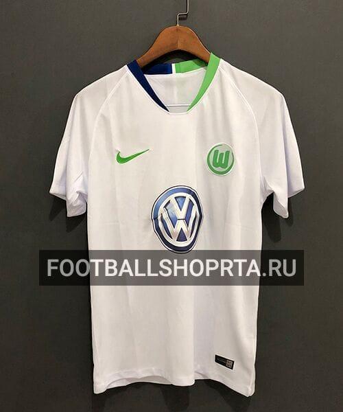 Футболка Вольфсбурга гостевая - 2018/19