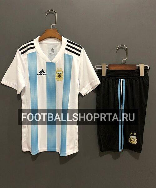 Детская форма сборной Аргентины домашняя - 2018