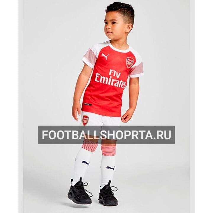 Детская форма Арсенал домашняя - 2018/19