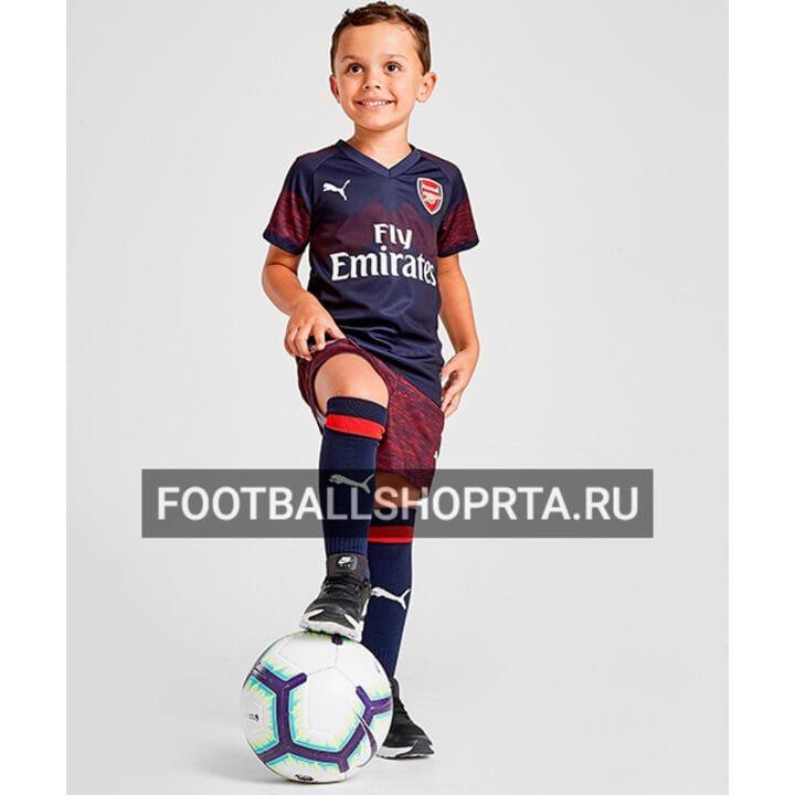 Детская форма Арсенал гостевая - 2018/19