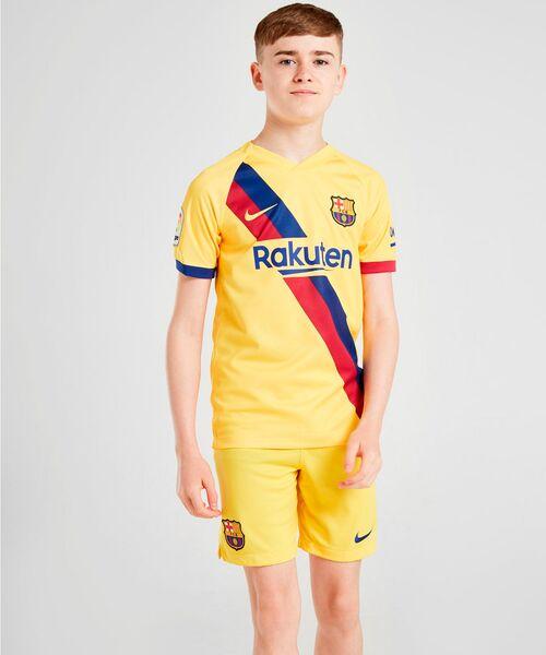 Детская форма Барселоны 2019/20 - гостевая