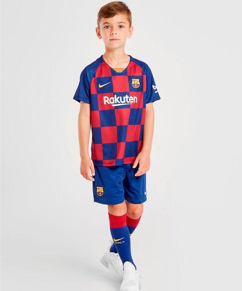 Детская форма Барселоны 2019/20 - домашняя