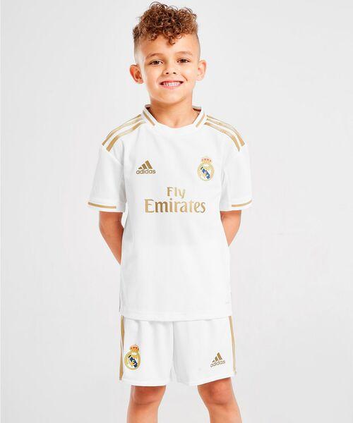 Детская форма Реал Мадрид 2019/20 - домашняя
