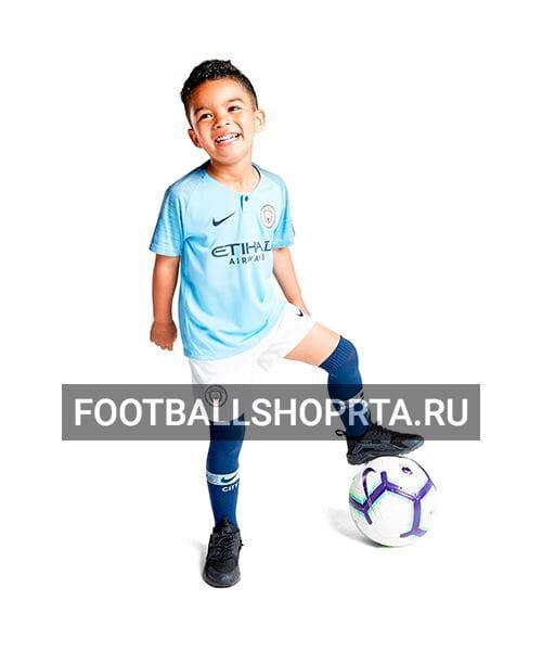 Детская форма Манчестер Сити домашняя - 2018/19