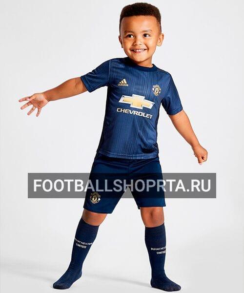 Детская форма Манчестер Юнайтед резервная - 2018/19