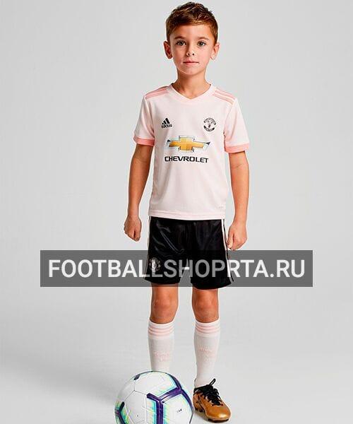 Детская форма Манчестер Юнайтед гостевая - 2018/19