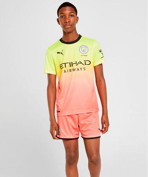 Детская форма Манчестер Сити 2019/20 - резервная