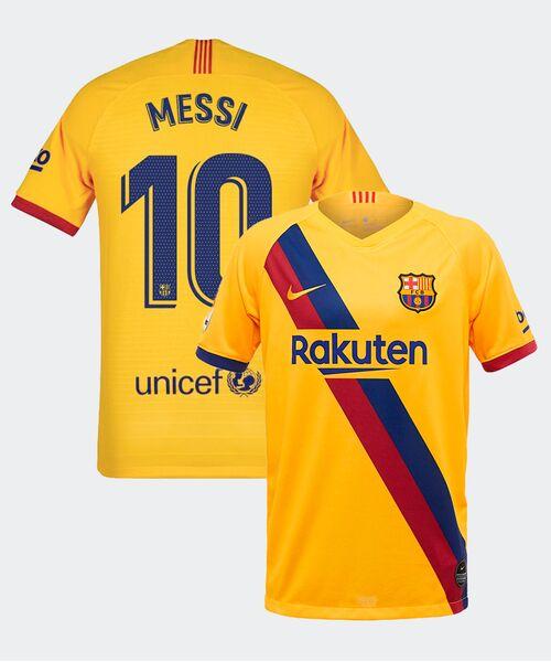 Футболка Барселоны МЕССИ 10 - гостевая