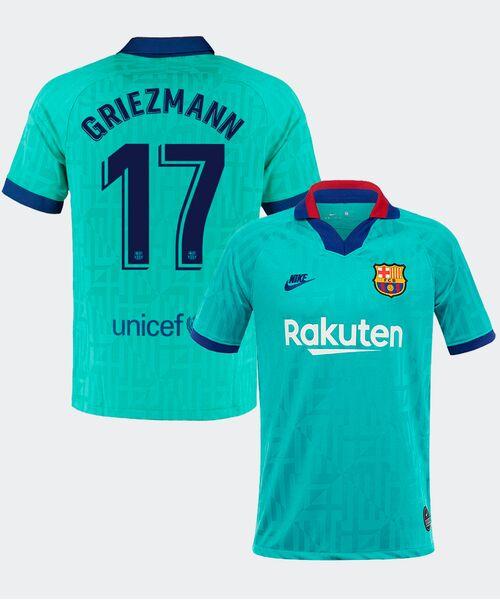 Футболка Барселоны ГРИЗМАНН 17 - резервная