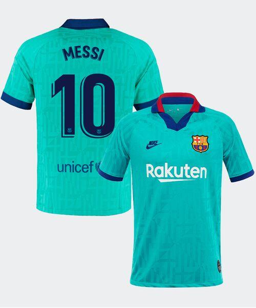 Футболка Барселоны МЕССИ 10 - резервная