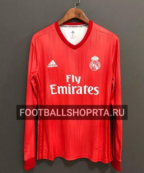 Футболка Реал Мадрид резервная с длинным рукавом - 2018/19
