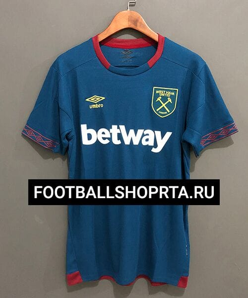 Футболка Вест-Хэм гостевая - 2018/19