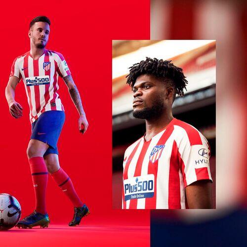 Новый сезон - новая форма. Домашний комплект «Атлетико Мадрид» 2019/20