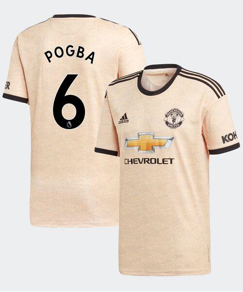 Футболка Манчестер Юнайтед ПОГБА 6 - гостевая
