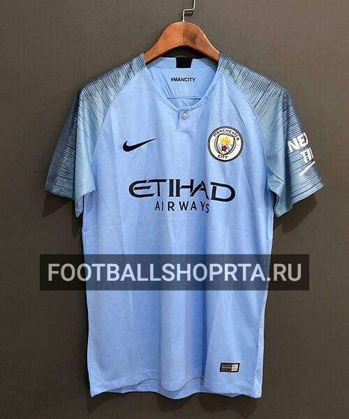 Футболка Манчестер Сити домашняя - 2018/19