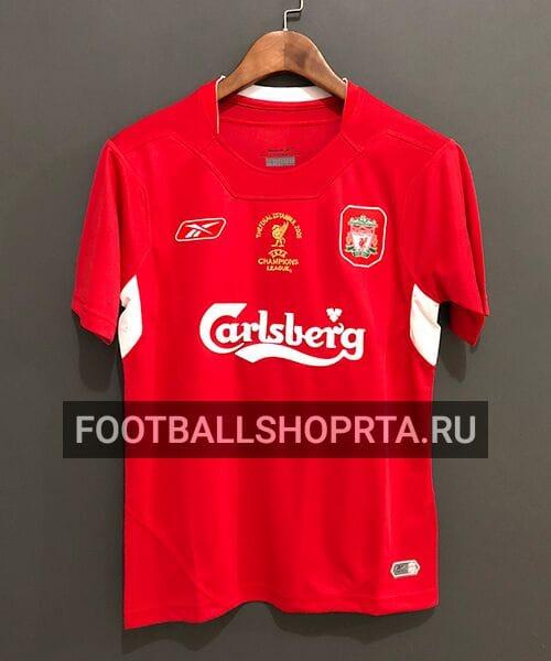 Ретро футболка Ливерпуля 2004/05