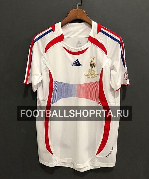 Ретро футболка сборной Франции 2006