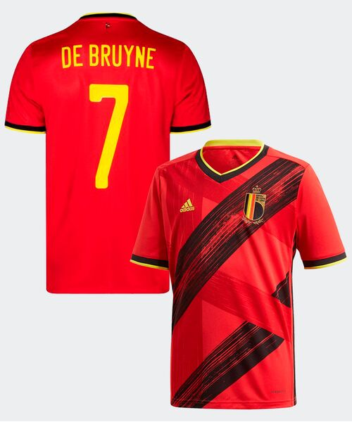 Футболка Бельгии ДЕ БРЮЙНЕ 7 - домашняя