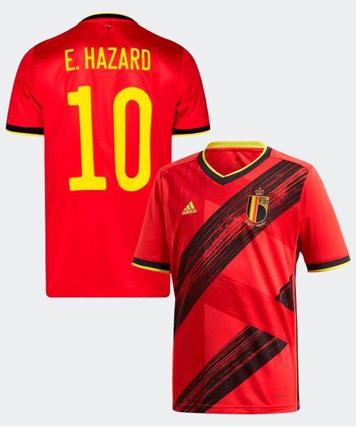Футболка Бельгии АЗАР 10 - домашняя