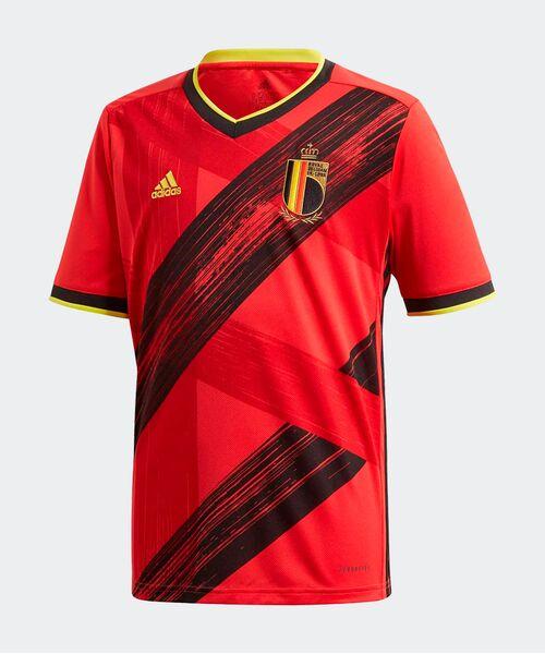 Футболка Бельгии 2020/21 - домашняя