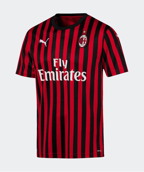 Футболка Милана 2019/20 - домашняя