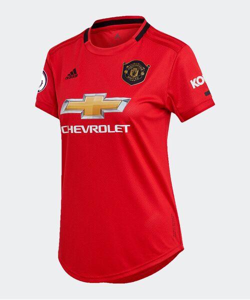 Женская футболка Манчестер Юнайтед  домашняя - 2019/20