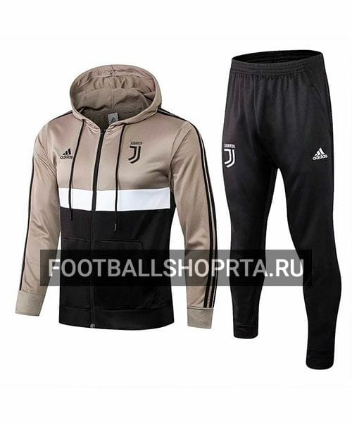 Спортивный костюм Ювентуса с капюшоном 2018/19
