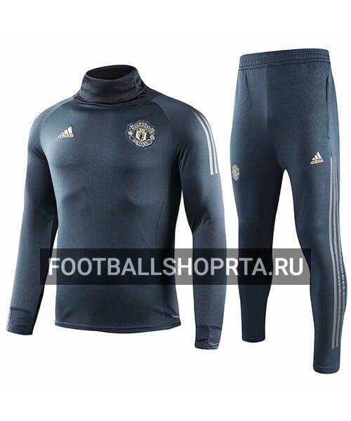 Тренировочный костюм Манчестер Юнайтед с горловиком - 2018/19