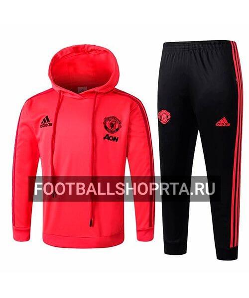 Детский костюм Манчестер Юнайтед с капюшоном - спортивный