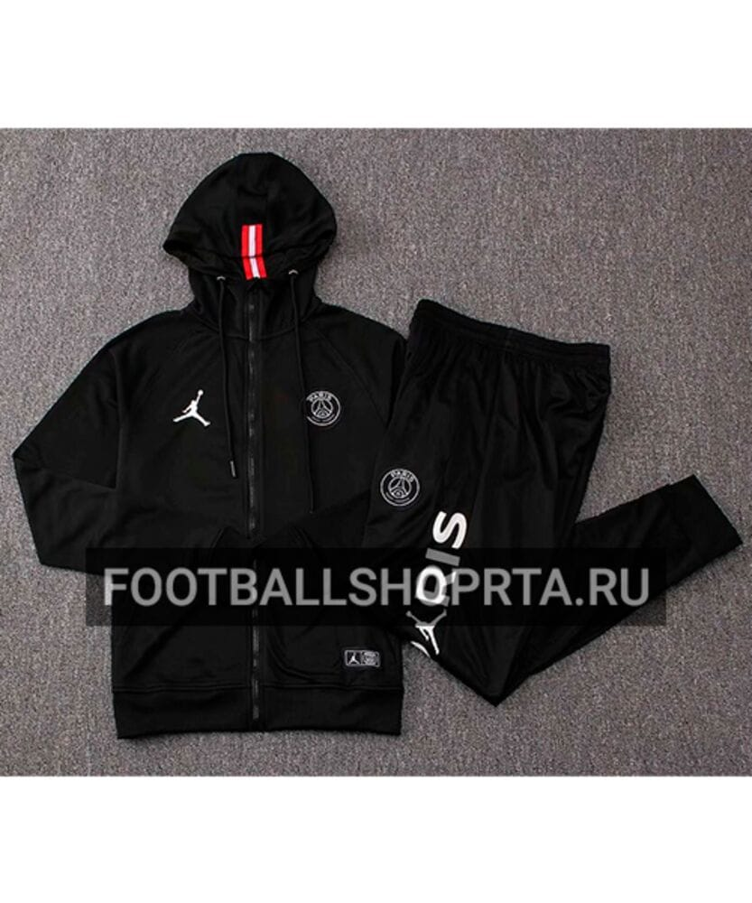 c0a442d8 Спортивный костюм AIR JORDAN X PSG с капюшоном купить по цене 3990 ...